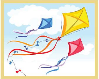5 Lines on Kite in Hindi