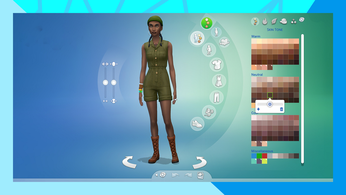 The Sims 4 - Over Hundreds of Skin Tones in the December Update