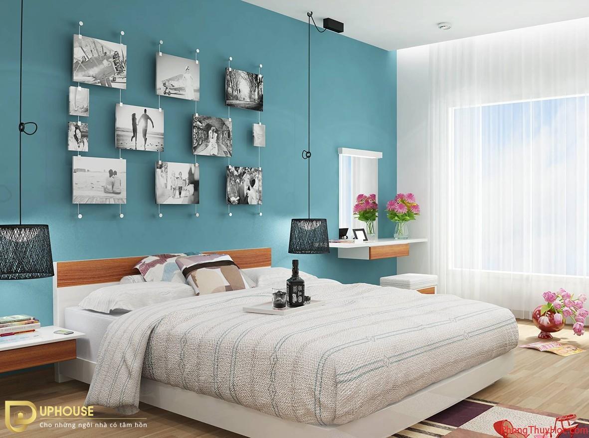 Màu sơn phòng ngủ mệnh Hỏa 13