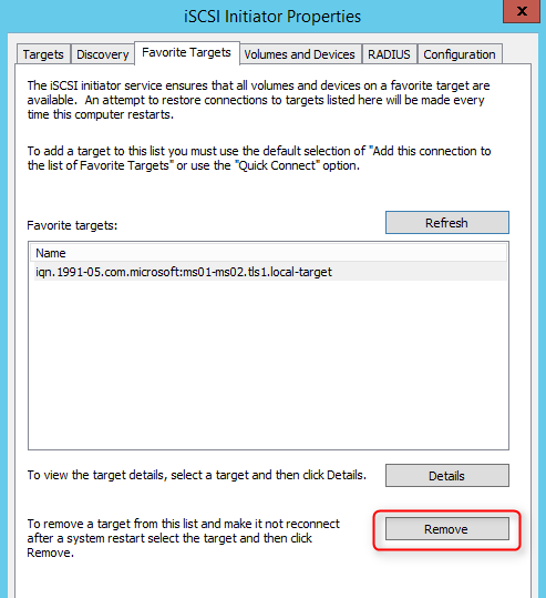 Terry L@u's blog: Configure iSCSI connections with MPIO on