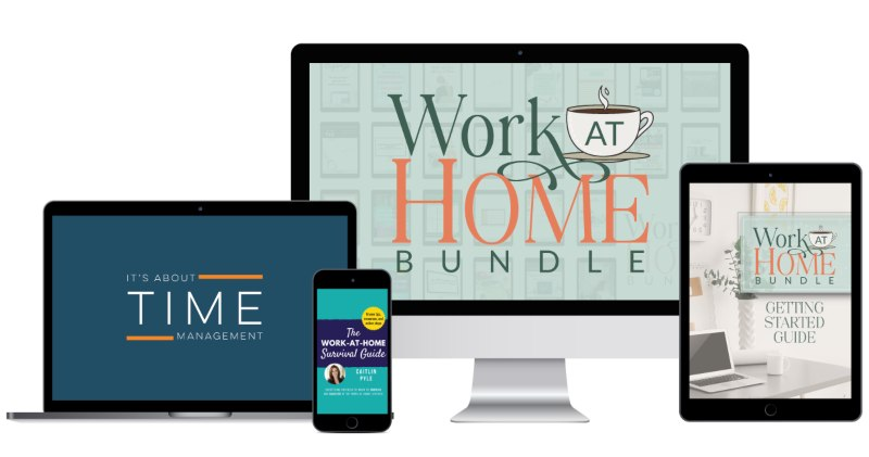work smart from home - sale ends today