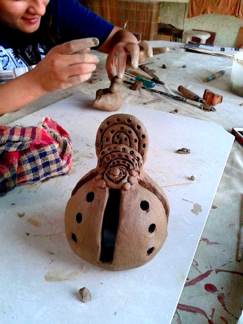 Clay Modelling Workshop for Engineering Students