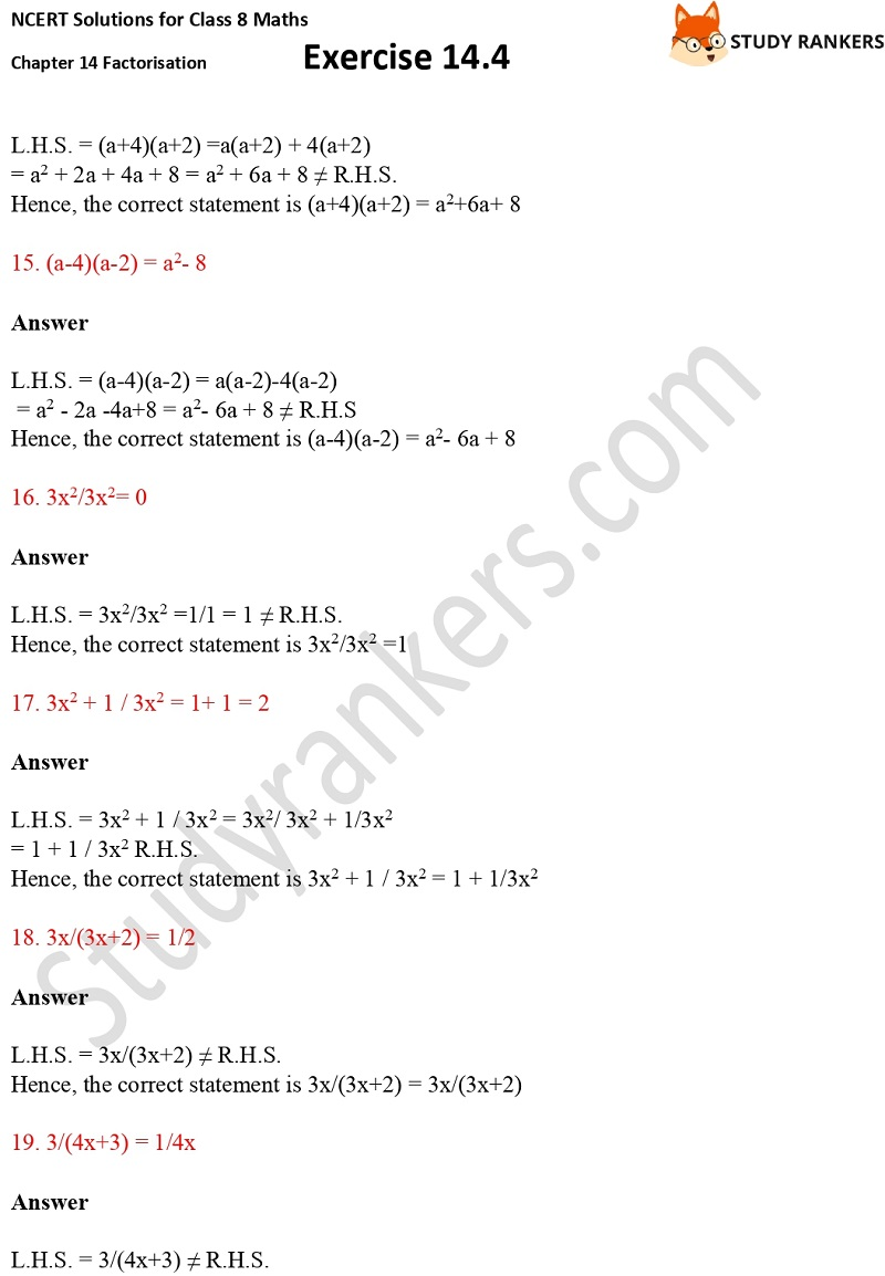 NCERT Solutions for Class 8 Maths Ch 14 Factorization Exercise 14.4 4