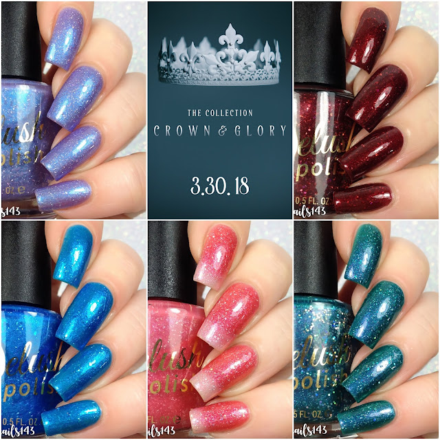 Delush Polish-Crown & Glory Collection