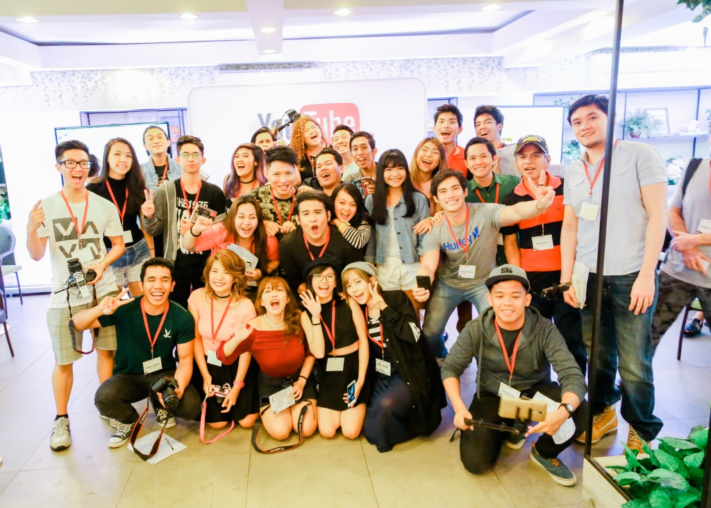 Youtube celebrates talent of Filipino creators