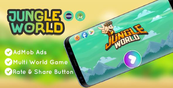 Jungle World Game   Android Studio   AdMob Ads SDK 27