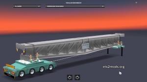 Schwerlast Stahlb Konstruktion trailer mod