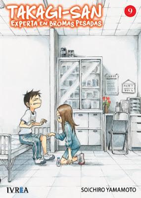 "Review de ""Takagi-san, experta en bromas pesadas"" (Karakai Jouzu no Takagi-san) vols. 8 y 9, de Sōichirō Yamamoto - Ivréa"