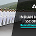 Last Day to Apply for Indian Navy SSC Officer (IT) Recruitment Notification 2021