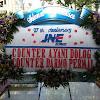 Bunga Papan Selamat 27 Anniversary JNE Surabaya