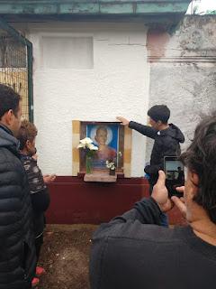 Vecinos de Monte Chingolo reinauguraron la ermita de la Estación