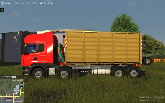 SCANIA TRUCKS PACK V 0.9.5.8