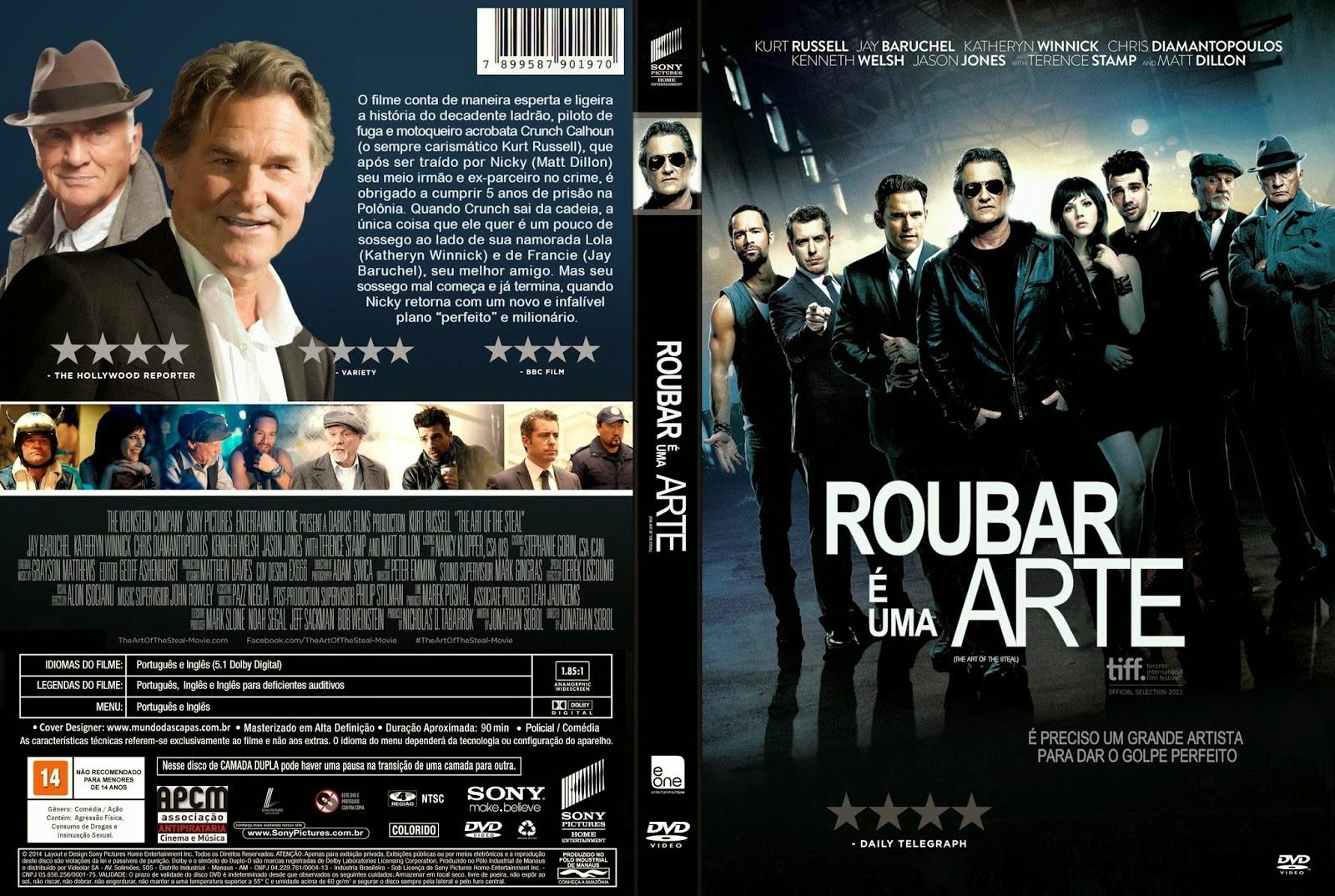 Blog dos Cacá : ROUBAR É UMA ARTE ( 2013 ) EM DVD-R black39 [ACERVO]