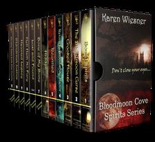 Karen Wiesner's Bloodmoon Cover Spirits Series