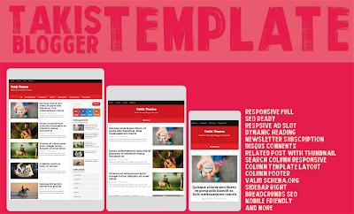 Template Blog Takis