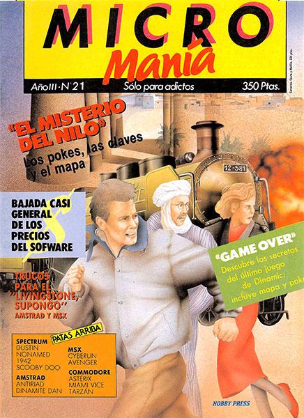 Revista Micromanía Número 21