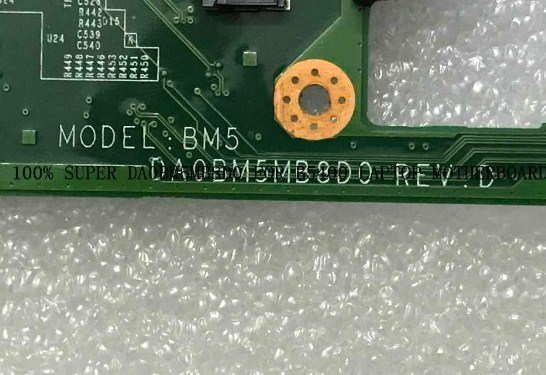 DAOBM5MB8D0 REV-D Lenovo B5400 Bios
