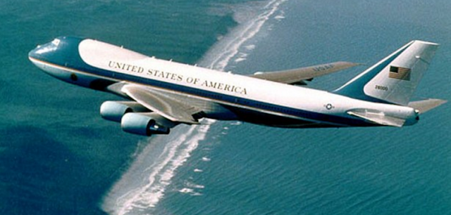 Perbedaan Pesawat Donald Trump dan Air Force One Kepresidenan Amerika
