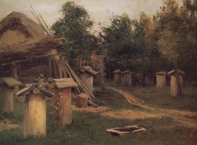 Исаак Ильич Левитан - Пчельник. 1880-е