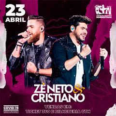 23/04/2021 Show de Zé Neto e Cristiano em São Paulo [CTN Limão] Centro de Tradições Nordestinas