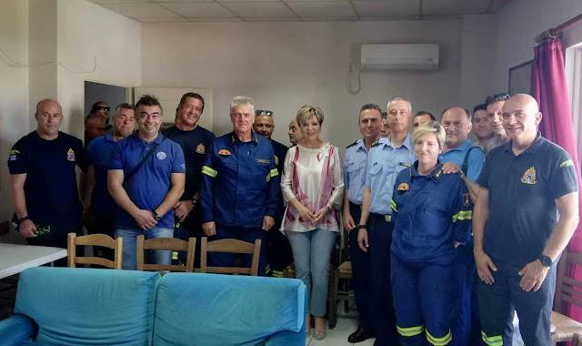 Όλγα Γεροβασίλη στην Πυροσβεστική Άρτας: Θωρακίσαμε τη χώρα με την ενίσχυση του ανθρώπινου δυναμικού και των υποδομών της πυροσβεστικής