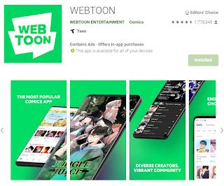 aplikasi-webtoon-comics