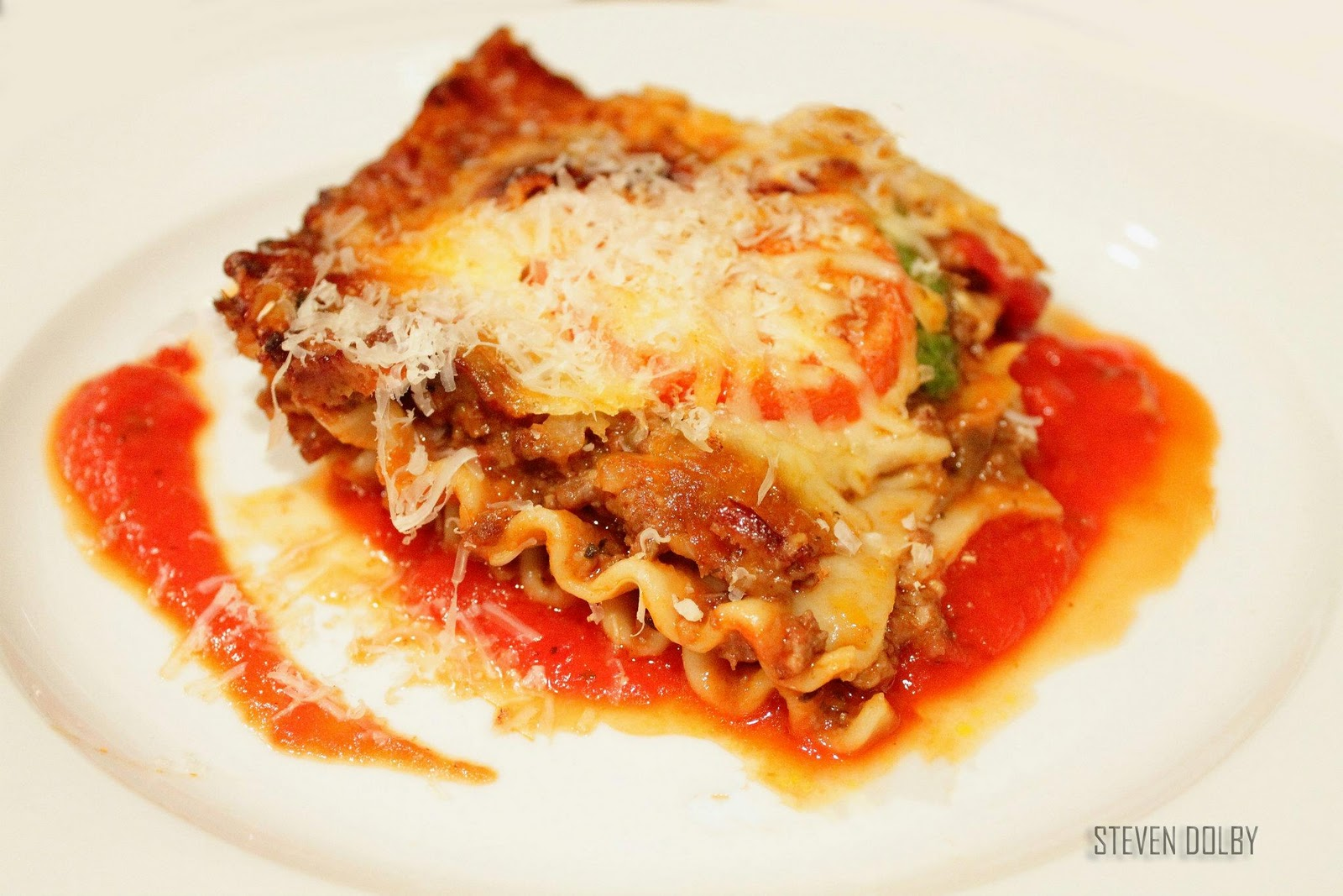 rustic lasagne alla bolognese by steven dolby