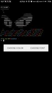 Mengganti Font Bawaan Termux Agar Lebih Keren