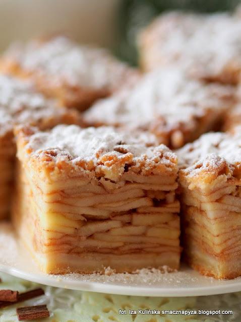 szarlotka tatrzanska, szarlotka z duza iloscia jablek, jablecznik, szarlotka z plasterkami jablek, jak upiec najlepsza szarlotka, pyszne ciasto na niedziele, sprawdzony przepis na szarlotke