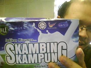 SUSU KAMBING KAMPUNG ASLI