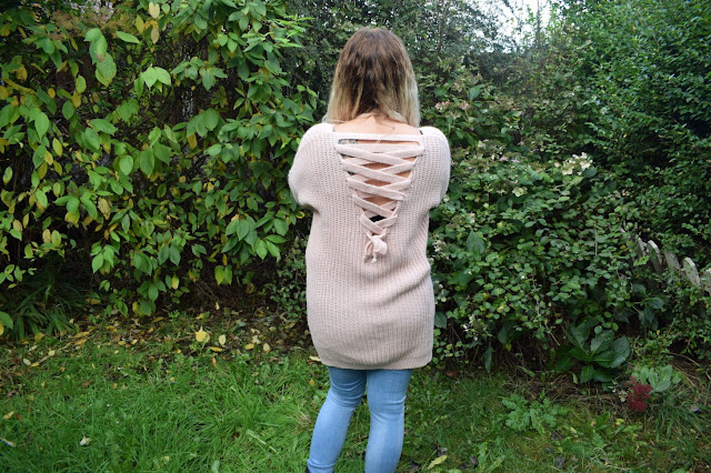 My new winter wardrobe with Look of the Day cross up back jumper dress and basic skinny jeans