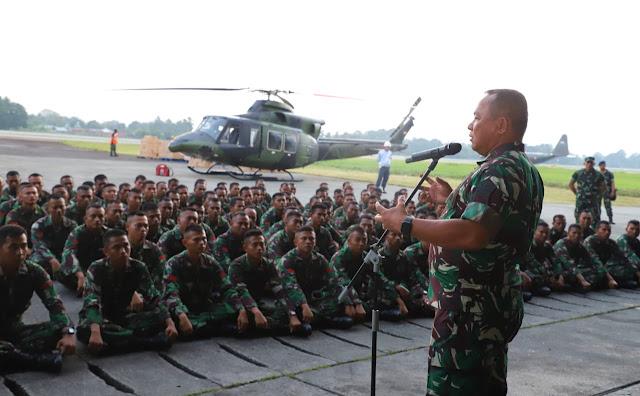 Asops Panglima TNI : Prajurit TNI Jangan Mudah Terprovokasi