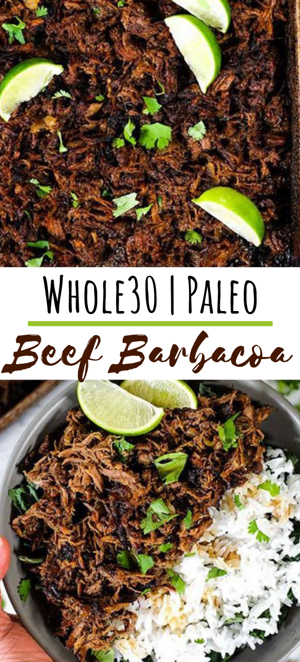 Beef Barbacoa (Paleo, Whole30 + Keto) Slow Cooker or Instant Pot #healthy #lunch