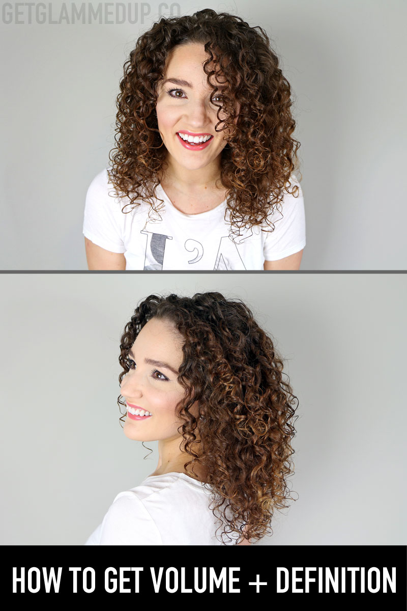 DevaCurl Hair Routine for Volume + Definition