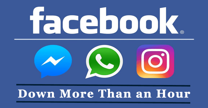 WhatsApp, Instagram, Facebook & Messenger Down  More than an Hour Globally