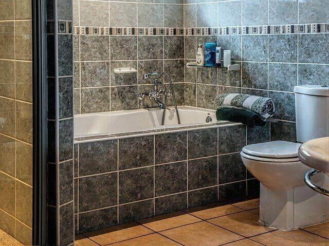 ديكورات حمام