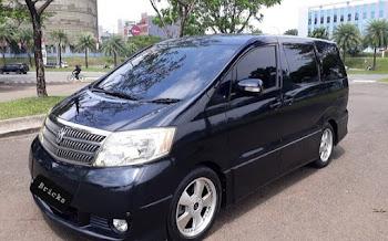 Interior Toyota Alphard, Elegan, Aman & Aman