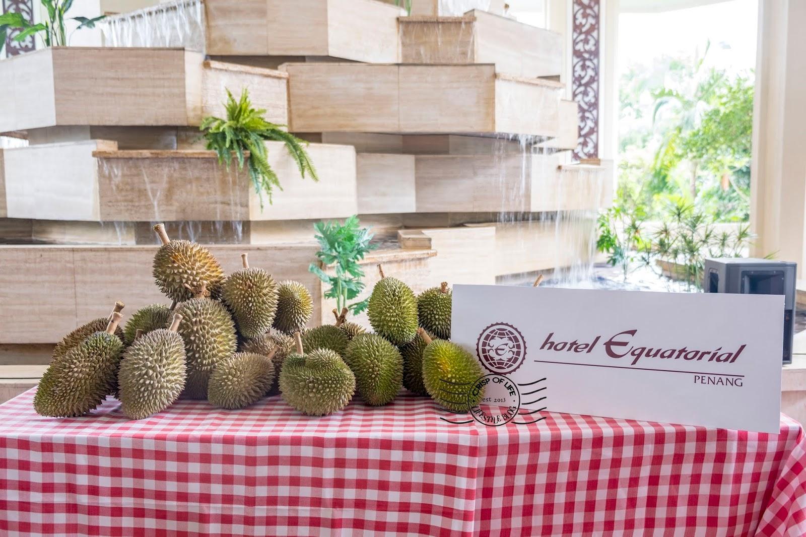 Hotel Equatorial Durian Buffet for RM 40nett