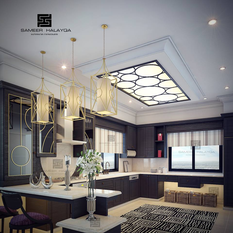Decoration Design: Kitchen Gypsum Ceiling Design For Unique Decoration