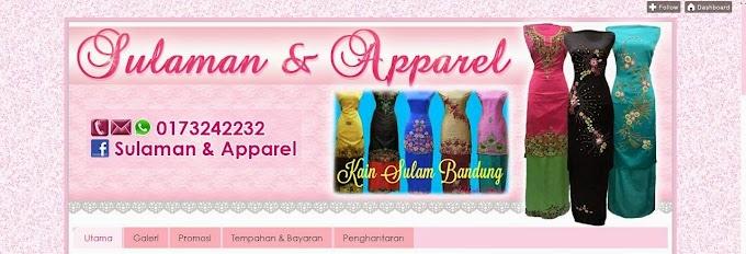 Tempahan Design Blog: Sulaman & Apparel