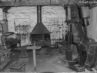 Overall view of Blacksmiths shopVictorian Blists Hill