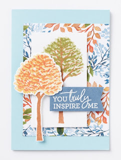 Stampin' Up! Beauty of the Earth Easy Side Step Card + VIDEO Tutorial & Bonus Ideas ~ www.juliedavison.com #stampinup