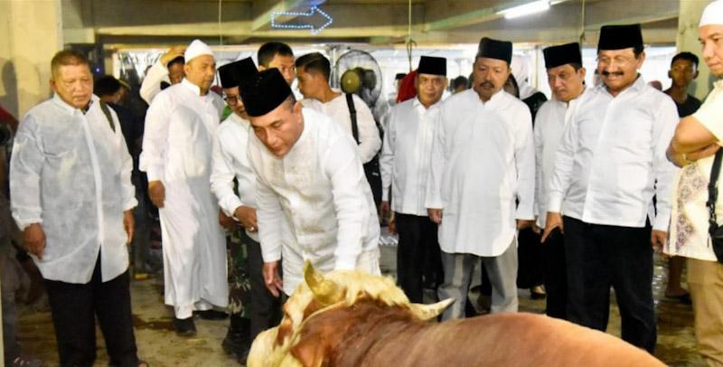 Masjid Agung Medan Bagikan 5000 Paket Kurban Berbasis Digitalisasi