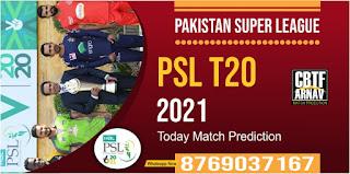 LAH vs ISL 15th Match PSL T20 Pakistan Super League 100% Sure Match Prediction