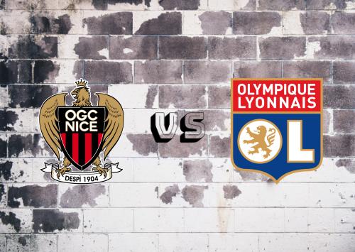 Nice vs Olympique Lyonnais  Resumen