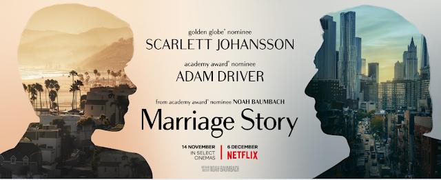 história de um casamento poster banner scarlett  netflix