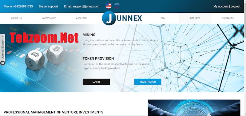 [SCAM] Review Junnex – Lãi up 3.5%/ngày trong 50 ngày. Hoàn gốc cuối chu kì
