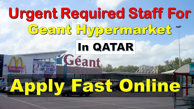 Supermarket jobs in Qatar | Geant Hypermarket careers |