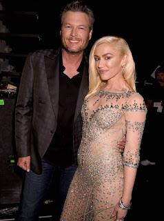 Blake Shelton and Gwen Stefani at the 2016 Billboard Music Awards