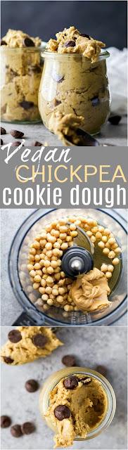 Vegan Chicpea Cookie Dough